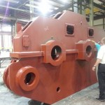 K&M Machine Fabricating - Fabricated and Machined Gear Box for Mining Industry Drag Line