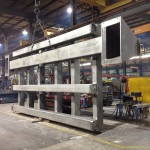 K&M Machine Fabricating - Fabricating a Base for a CNC Router Used in the Aerospace Industry