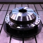 K&M Machine Fabricating - Machined Hub for Jack Up Rig Crane
