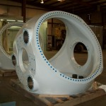 K&M Machine Fabricating - Machined and Zinc Coated Hubs for Wind Turbines