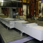 K&M Machine Fabricating - Machining a Base for an Injection Molding Machine
