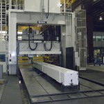 K&M Machine Fabricating - Machining a Gantry for a CNC Router Used in the Aerospace Industry