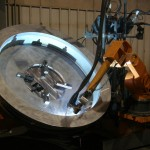 K&M Machine Fabricating - Robotic Welding of Winch Component for Oil and Gas Industry