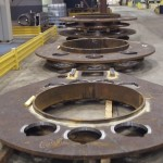 K&M Machine Fabricating - Roller Mounts for Jack Up Rig Crane