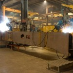 K&M Machine Fabricating - Welding Crawler for Mining Industry