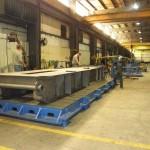 K&M Machine Fabricating - Fabrication of Power Generation Frame