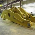 K&M Machine Fabricating - Assembly of Mining Machine Lift Arm