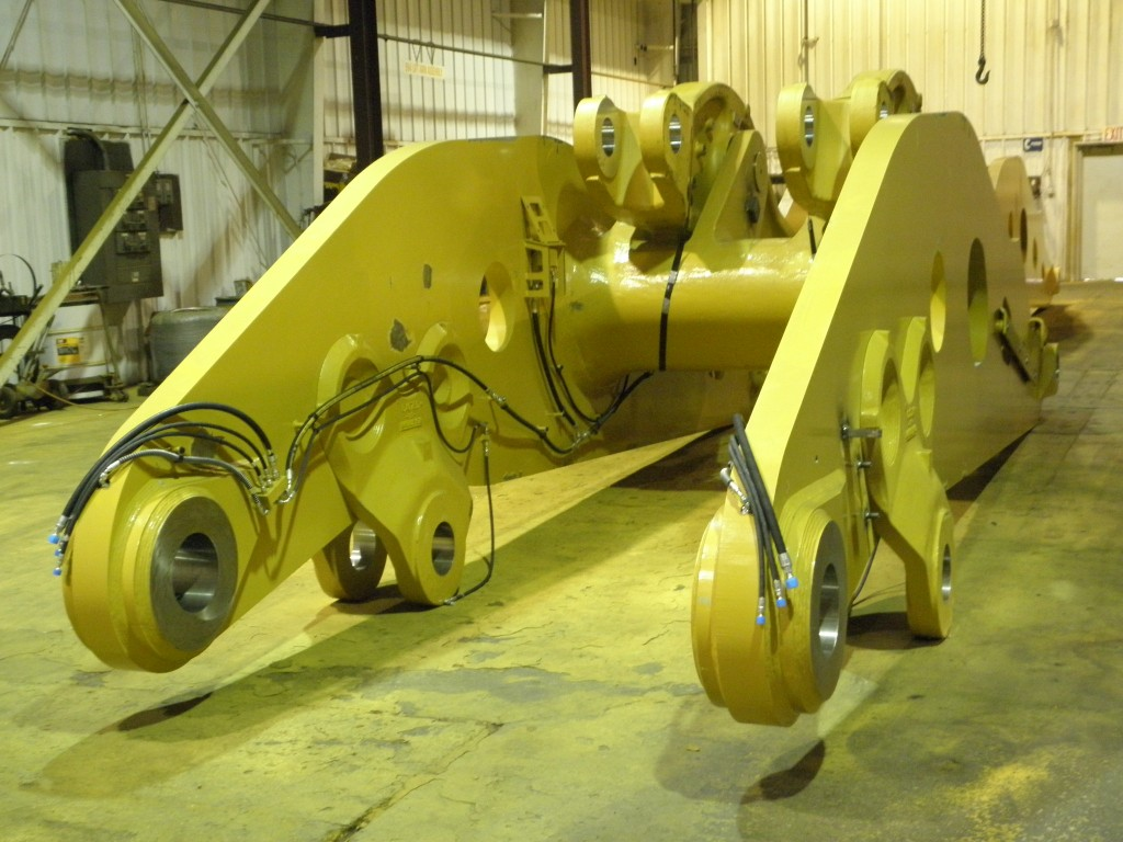 K&M Machine Fabricating - Assembly of Mining Machine Lift Arm