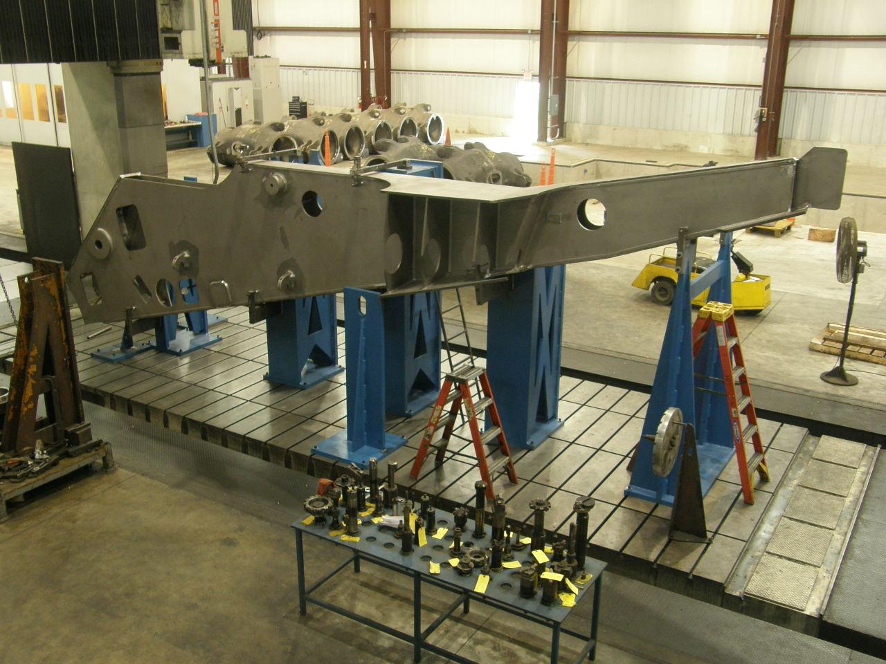 K Amp M Machine Fabricating Inc S Large Machining And