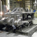 K&M Machine Fabricating - Machining of Long Wall Miner Haulage Frame