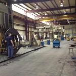 K&M Machine Fabricating – Laser Inspection of Jack Up Rig Crane Mount