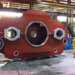 K&M Machine Fabricating - Fabricated and Machined Gearbox for Mining Industry Drag Line