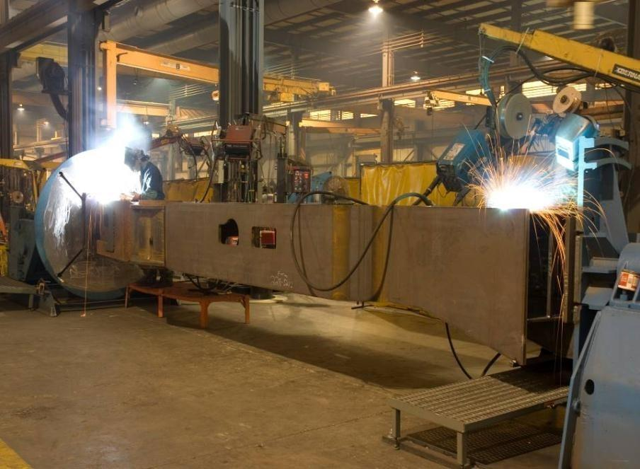 Large ESAB Subweld ARC Fabrication Welding at K&M Machine-Fabricating, Inc.