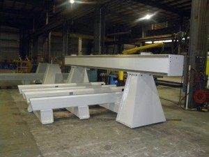 Machine Base Fabricated, Machined, Painted and Inspected - Picture # 7