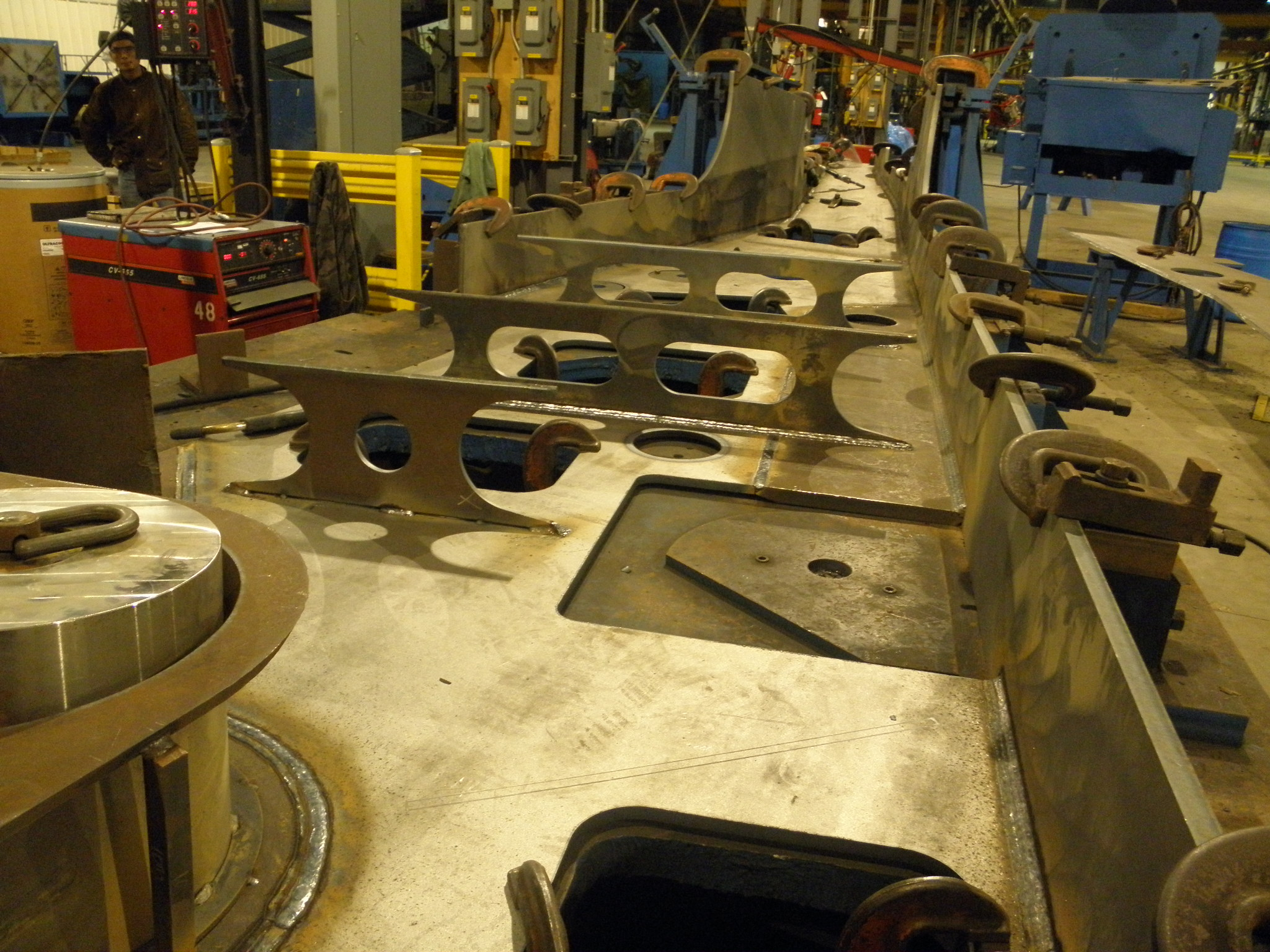 K Amp M Is Your Solution For Large Machining And Fabricating