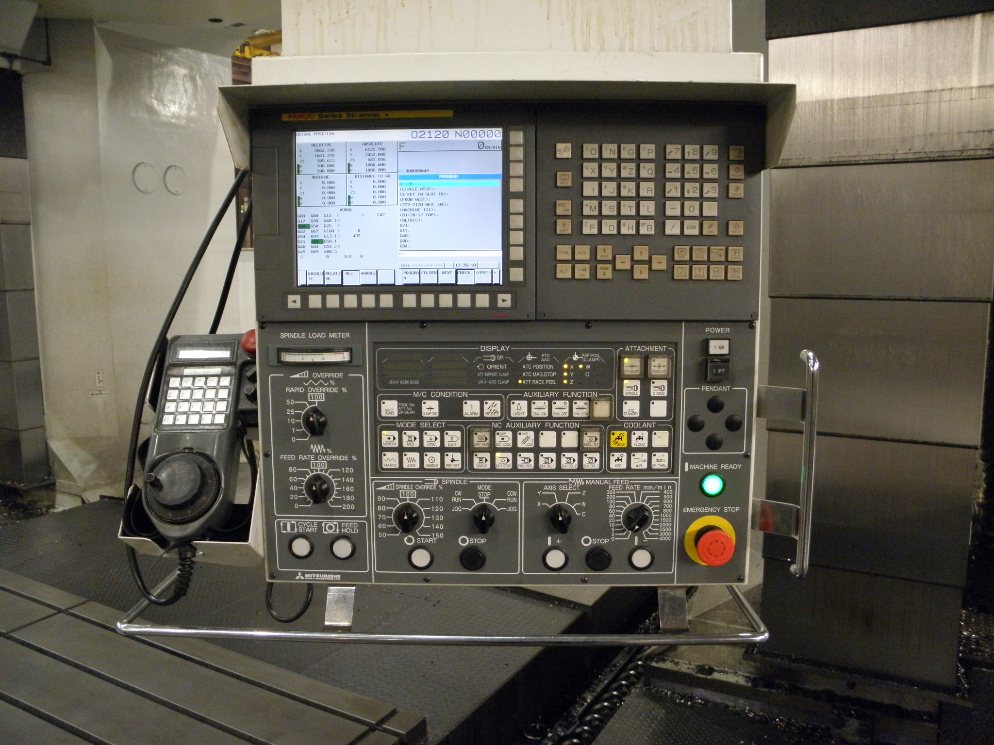 Large Machining 121 Control Picture 5