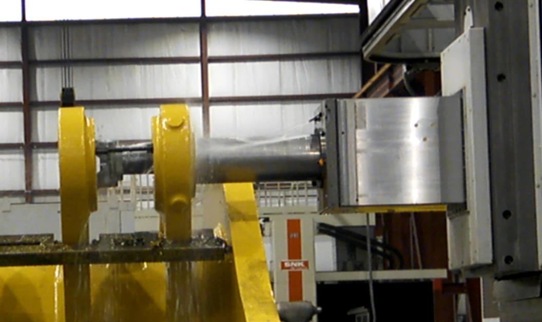 Large Machining 125 Boring Picture 2