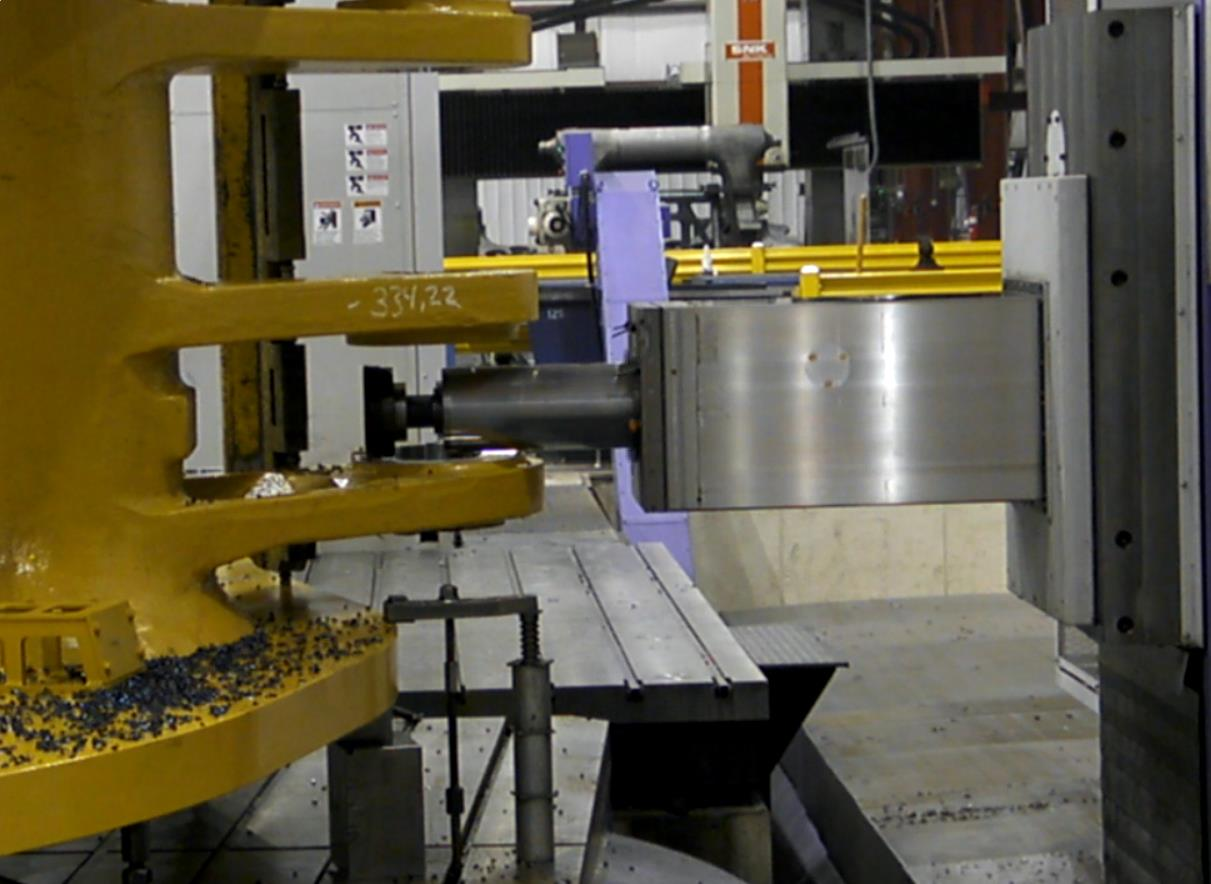 Large Machining 125 Plunge Milling Picture 1