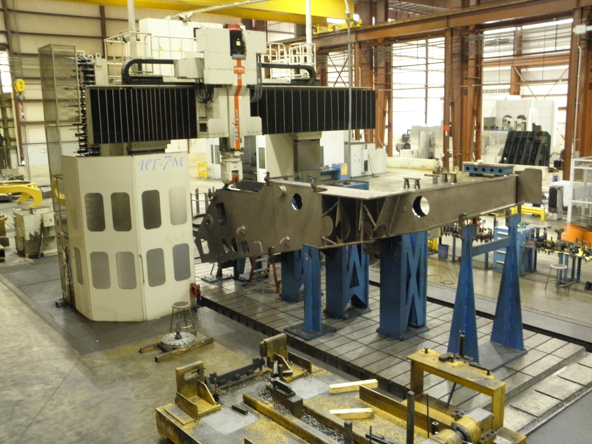 Machine # 111  K&M's Largest Large Vertical Gantry Mill - Picture #4