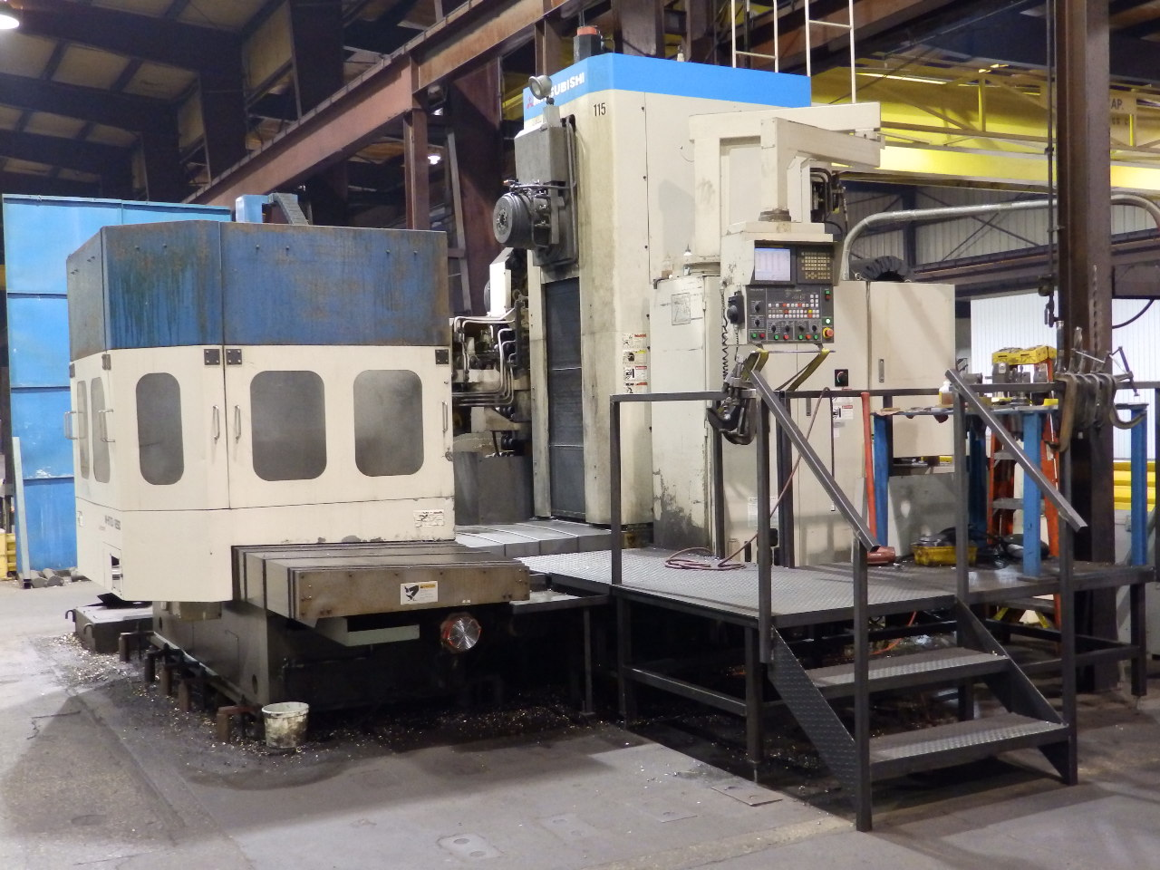 Large Machining Machine 115 Smallest Large Boring Mill