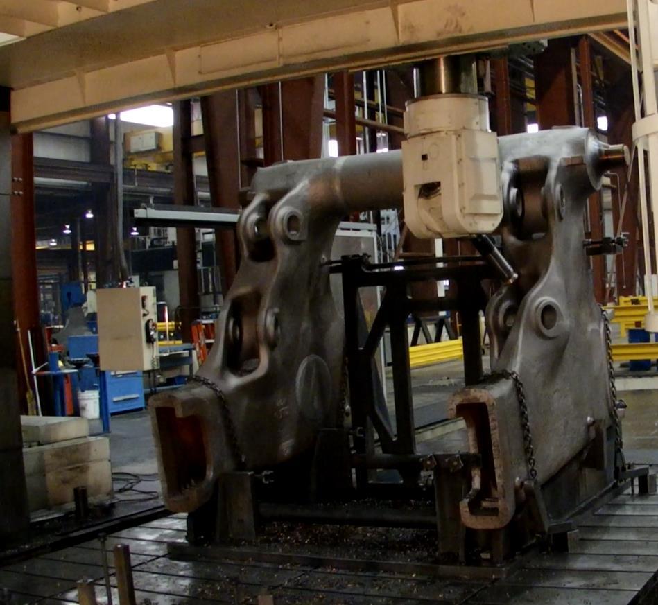 Picture #2 Large Vertical Gantry Machine – 3+2 Machining