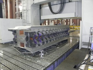 Process Controls for Contract Manufacturers of Large Machining and Large Fabrications - Machining Large Fabricated Engine Block