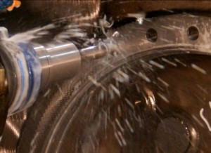 Machining Large Bores - Drilling Bolt Holes Around the Bore