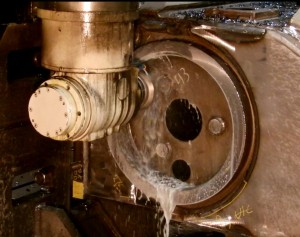 Machining Large Bores - Rough Machining the Bore