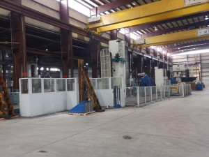 Michigan Large Horizontal CNC Machines 312 Cubic Meter Capacity