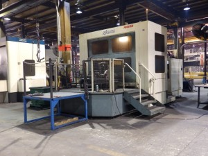 Michigan Large Horizontal CNC Machines 1.8 Cubic Meter Capacity