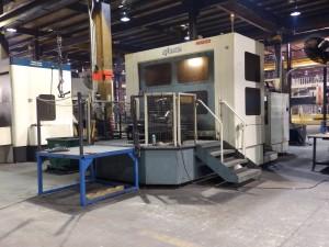 Michigan Large Horizontal CNC Machines 1.8 Cubic Meter Capacity