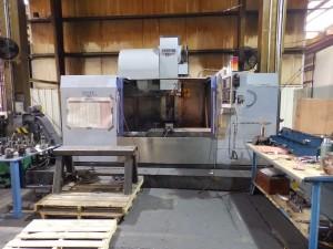 Michigan Large Vertical CNC Machines 0.8 Cubic Meter Capacity